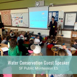 Water Conservation Guest Speaker