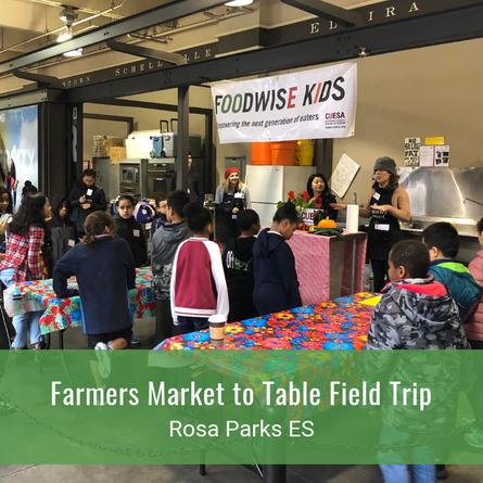 Farmers Market to Table Field Trip