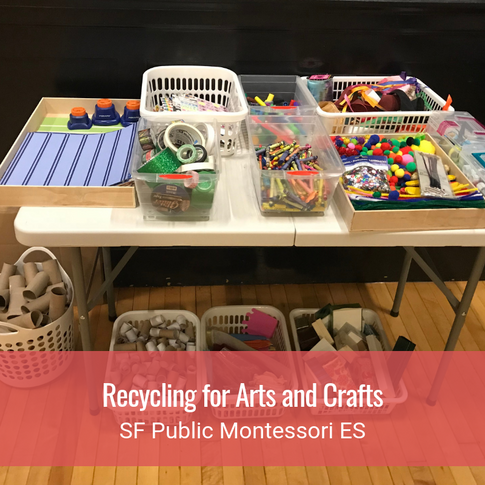 Recycling for Arts and Crafts