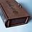 Thumbnail: Книжечка для чеков с кожаным переплетом
