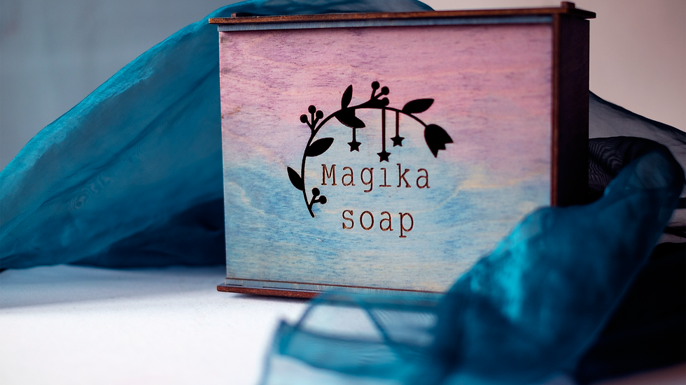 Коробка-пенал для мыла ручной работы