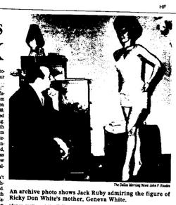 Jack Ruby and Geneva White