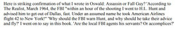 Joesten links the FBI and Hunt
