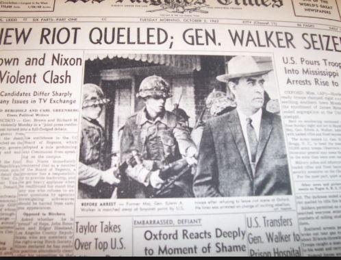 The WC Testimony of Ex-General Edwin Walker