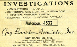 Banister Yellow Page ad