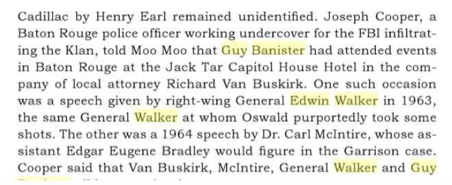 General Walker & Guy Banister