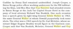 General Walker & Guy Banister
