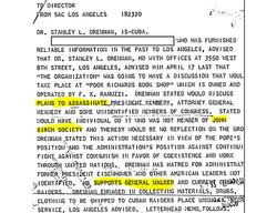 Plans to assassinate JFK