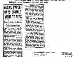 Oswald the fake communist