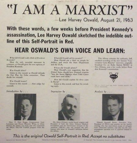 Oswald's John Birch Society record