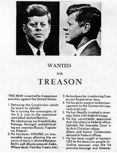 Wanted for Treason - JFK (Part 7)
