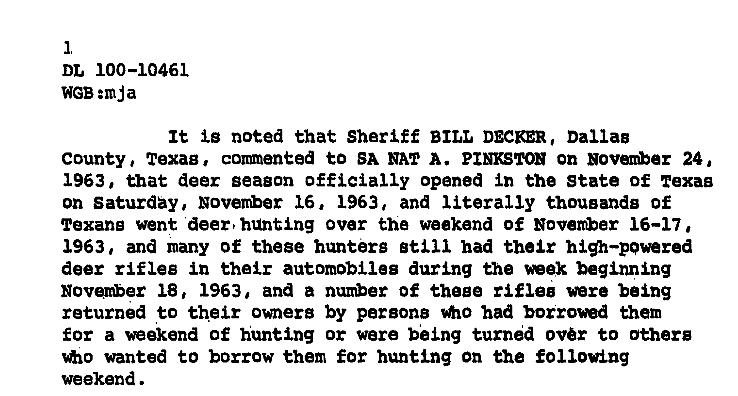 Decker: deer rifles everywhere