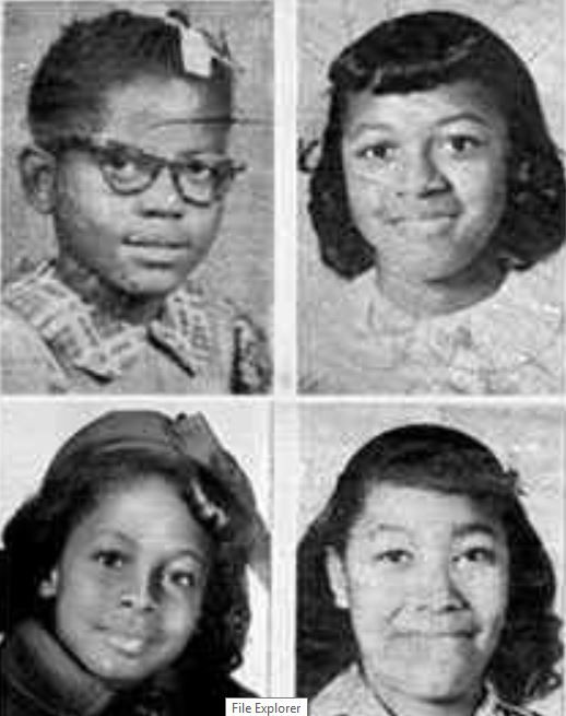 Remember Addie Mae, Denise, Carole, and Cynthia?