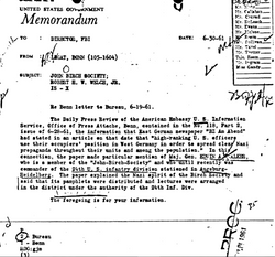 1961: Walker on FBI radar