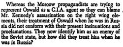 Oswald is not CIA