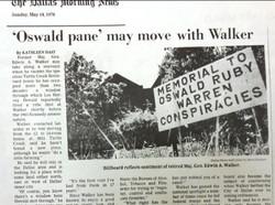 Walker's house sign