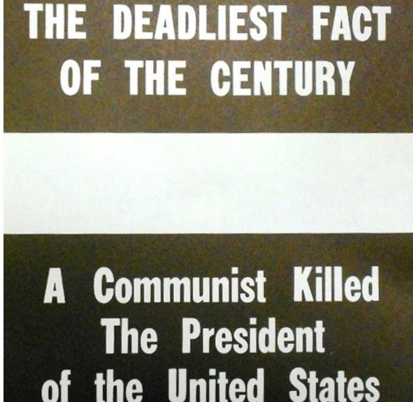 A commie kills JFK