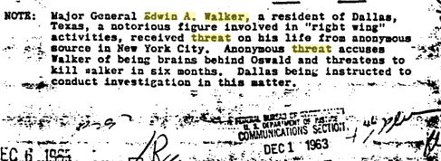 General Walker accused