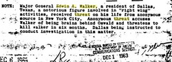 General Walker accused