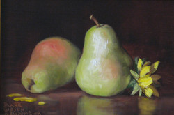 Pears With Sunflower