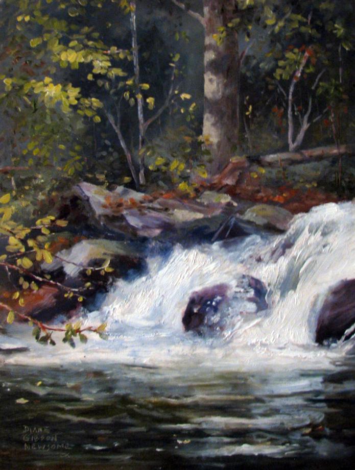 Upstream Falls