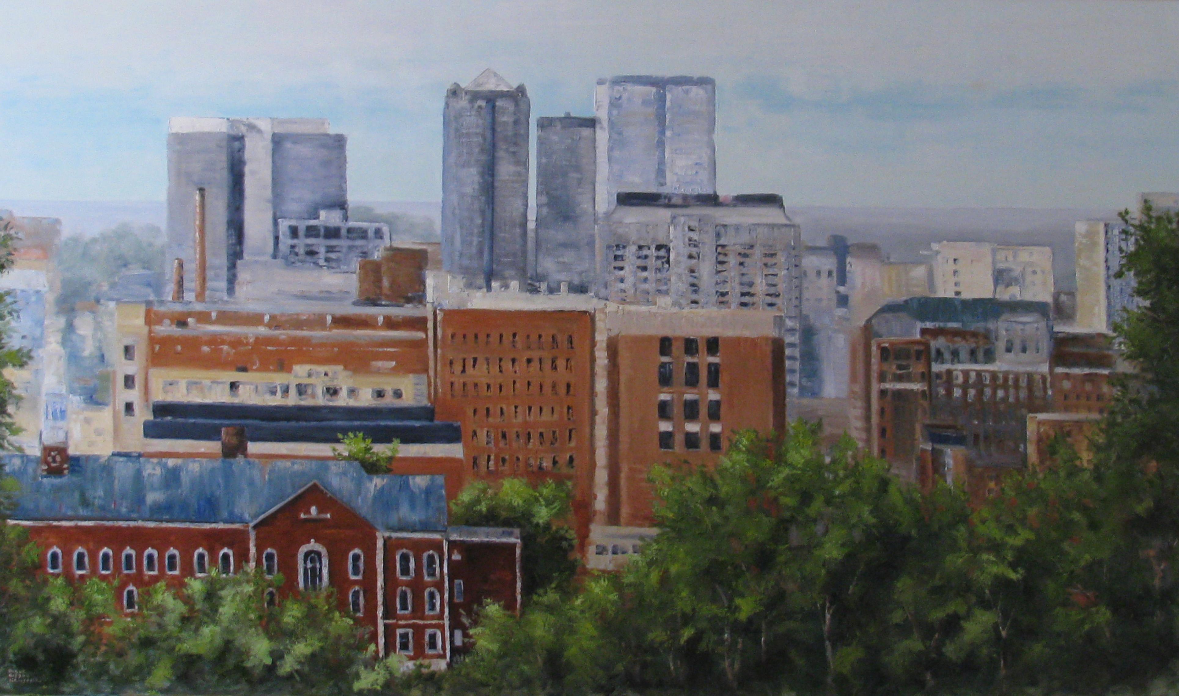 Birmingham Cityscape