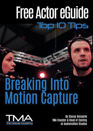 Actor Motion Capture Tips