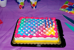 jocelyns birthday cake