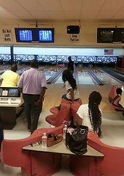 people bowling at Metro 24 Bowling Center