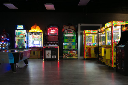 Several arcade games