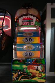 Arcade game at Indian Lanes