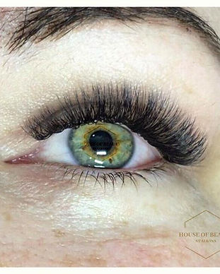 Russian Volume lashes are multiple exten