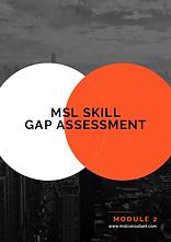 Medical Science Liaison Job - MSL Skill Gap Assessment