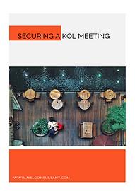 SECURING A KOL MEETING.PNG