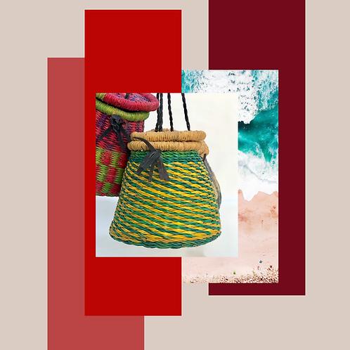 Lime/Yellow Mini Bag