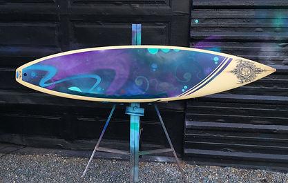 Jose Venegas's Surfboard Biocom EXPO 2019