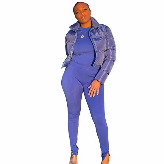 Long Sleeves 2 Piece Sweat Suit