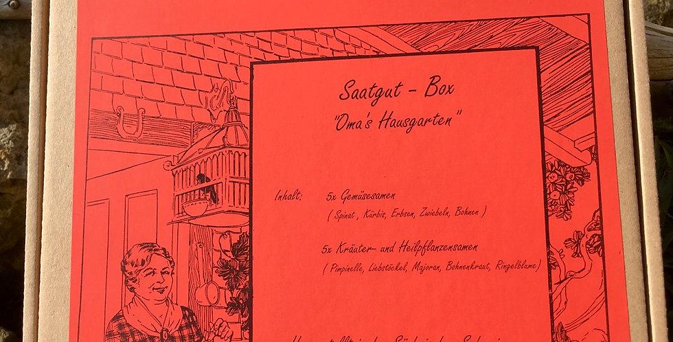 """Saatgut-Geschenkbox """"Oma's Hausgarten"""""""