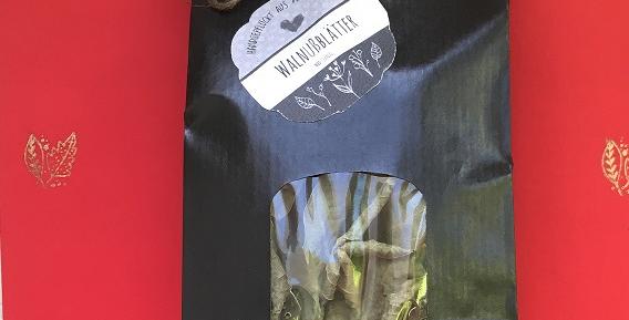 Walnussblätter luftgetrocknet