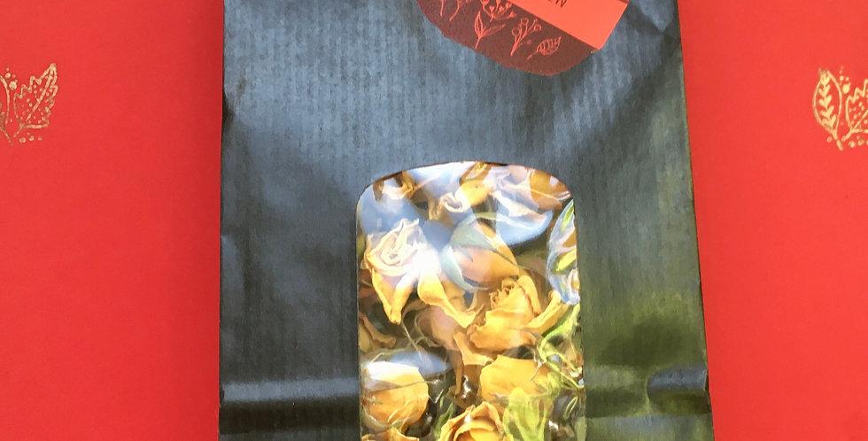 Rosenblüten luftgetrocknet