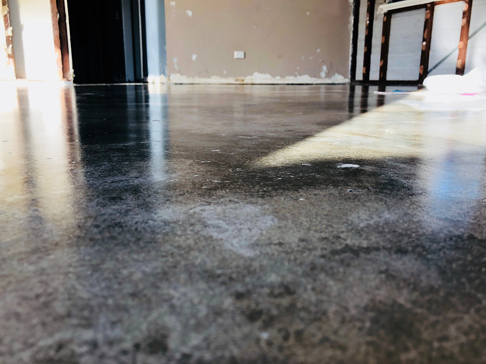 Grind and Seal Floor