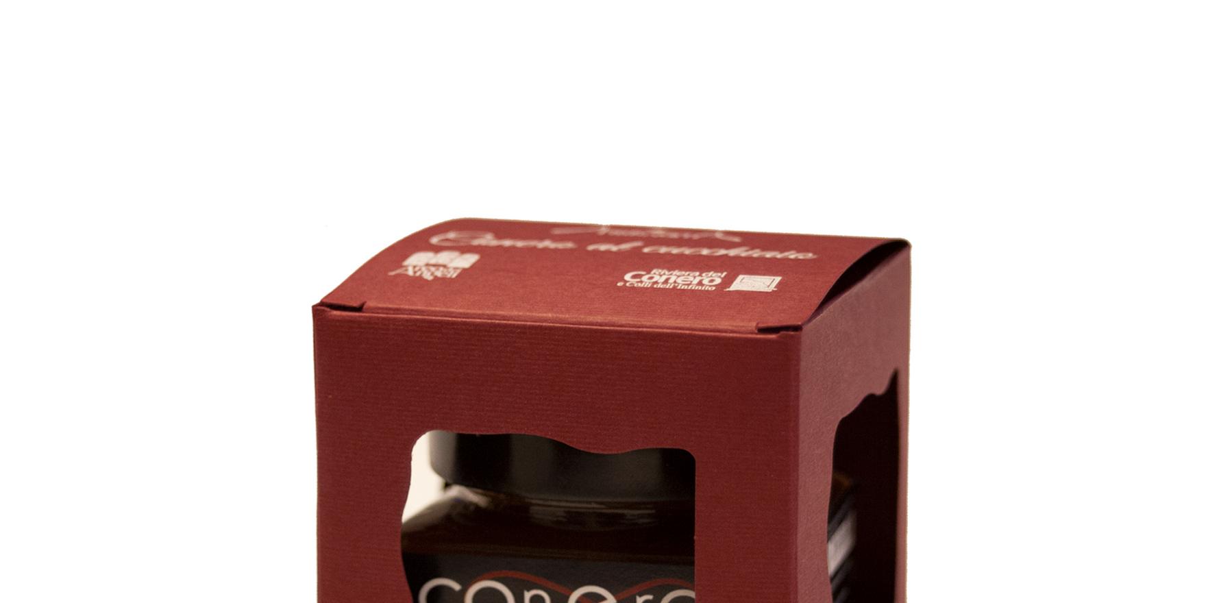 Confettura Conero, con mele rosa dei Sibillini e Rosso Conero - Ambrosia