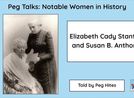 Peg Talks: Notable Women in History