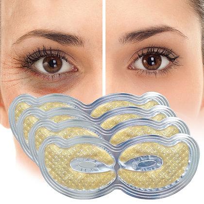 NIKII NORTH  Gold Crystal Collagen Eye Mask For Dark Circles