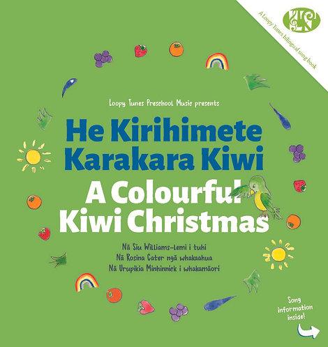 Book Only - He Kirihimete Karakara | It's A Colourful Kiwi Christmas