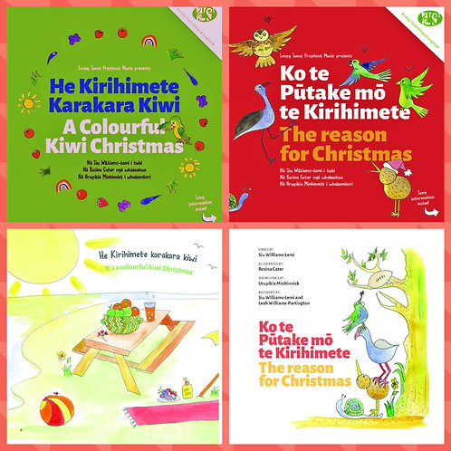 Two Christmas Books Only