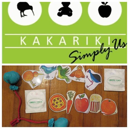 "CD + Props Pack Combo -""Kākāriki"""