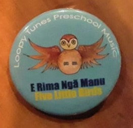 Ruru Button Badge