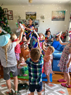 A Porse Christmas party, in Christchurch (2018)
