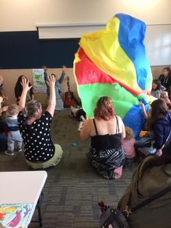 """The """"Under 5s Play Day"""", held by the Aranui Community Trust, Christchurch (2018)"""